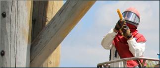 Log Home Restoration